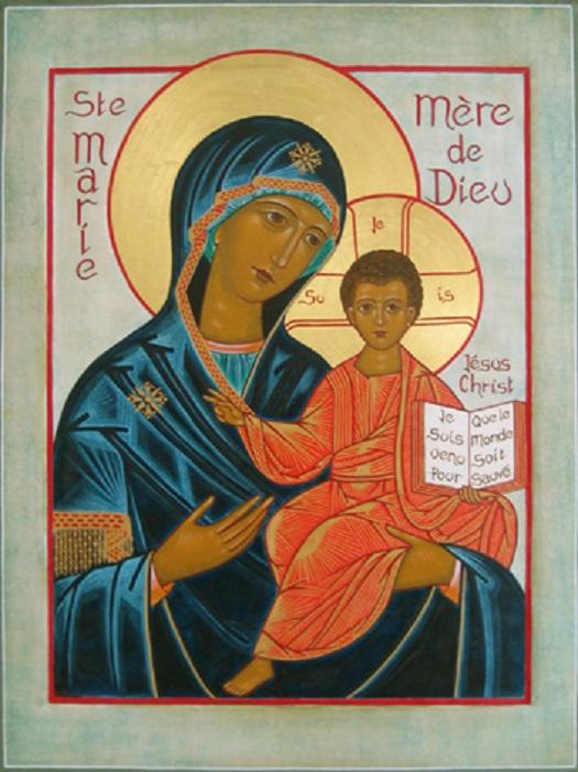 Marie, Mère de Dieu (1er janvier 2018)